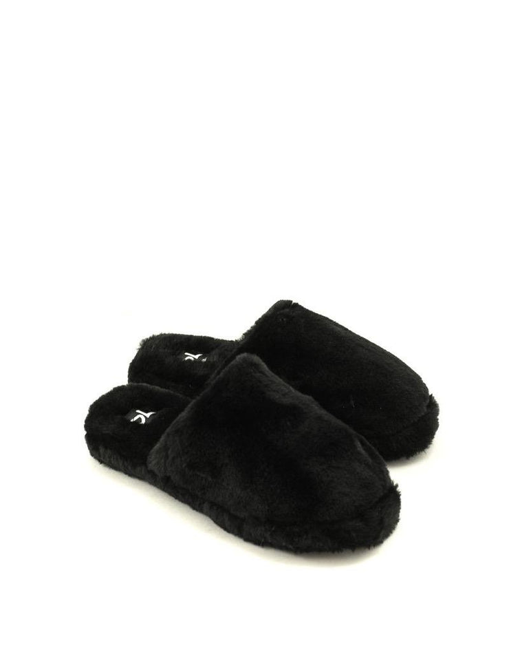 Dirty Laundry Come Out Slipper Black