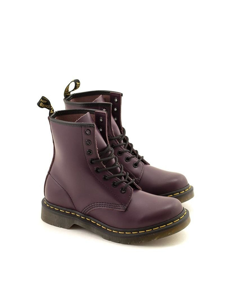 Dr. Marten's 1460W Boot Purple Smooth Leather