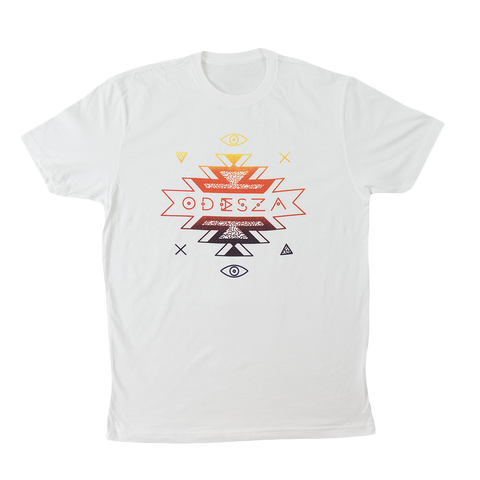 Mens Tribal Gradient Shirt