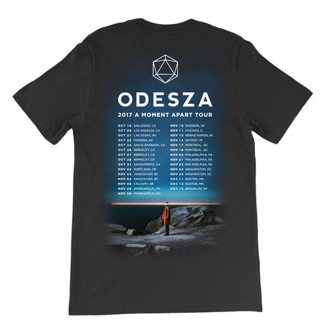 A Moment Apart Fall 2017 Tour Dates Shirt