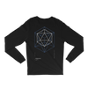 Icosahedron Cube Long Sleeve T