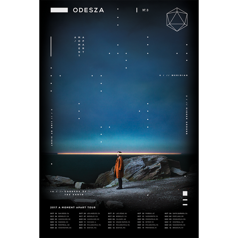 Fall 2017 Tour Poster - ODESZA