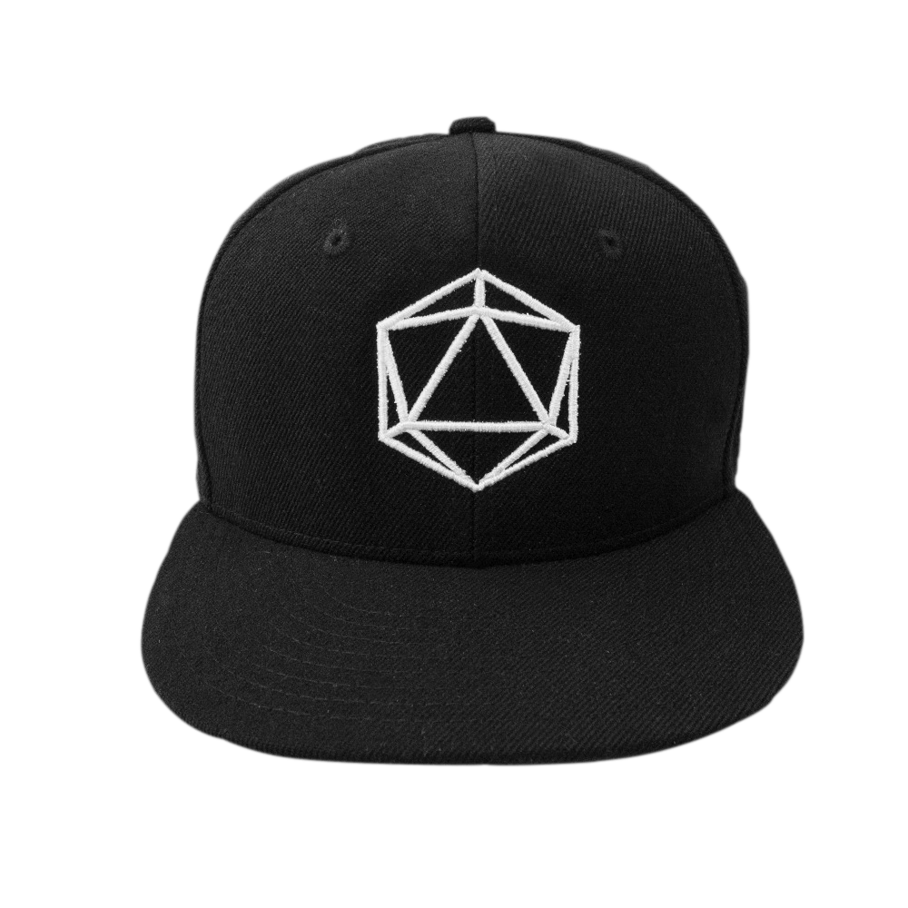 35da2517c7f Home   Icosahedron Snapback Hat. Double tap to zoom