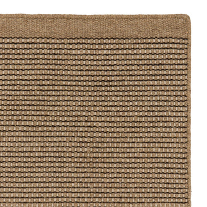 Kolong rug, sand & off-white, 100% new wool