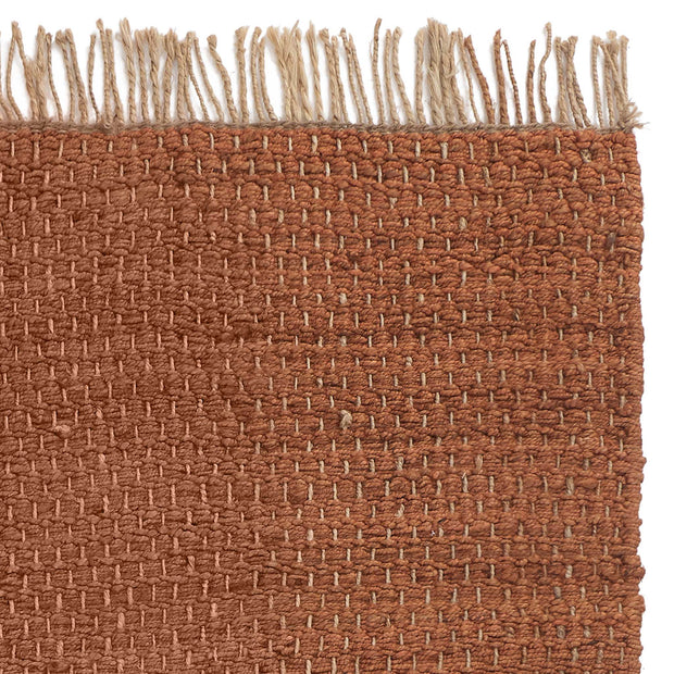 Baruva Doormat in terracotta & natural | Home & Living inspiration | URBANARA