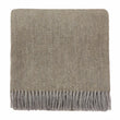 Gotland Sheri Blanket olive green & grey, 100% new wool