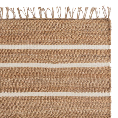 Sankra Hemp Door Mat in natural & ivory | Home & Living inspiration | URBANARA