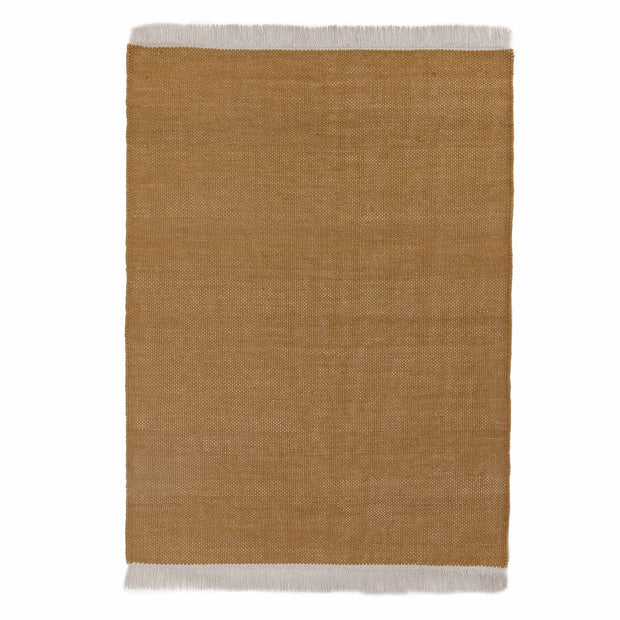 Tadali Wool Rug in ochre & off-white | Home & Living inspiration | URBANARA