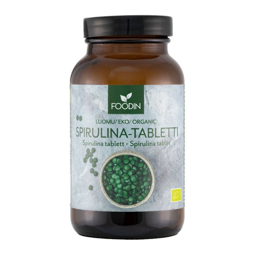 Spirulina-tabletit foodin
