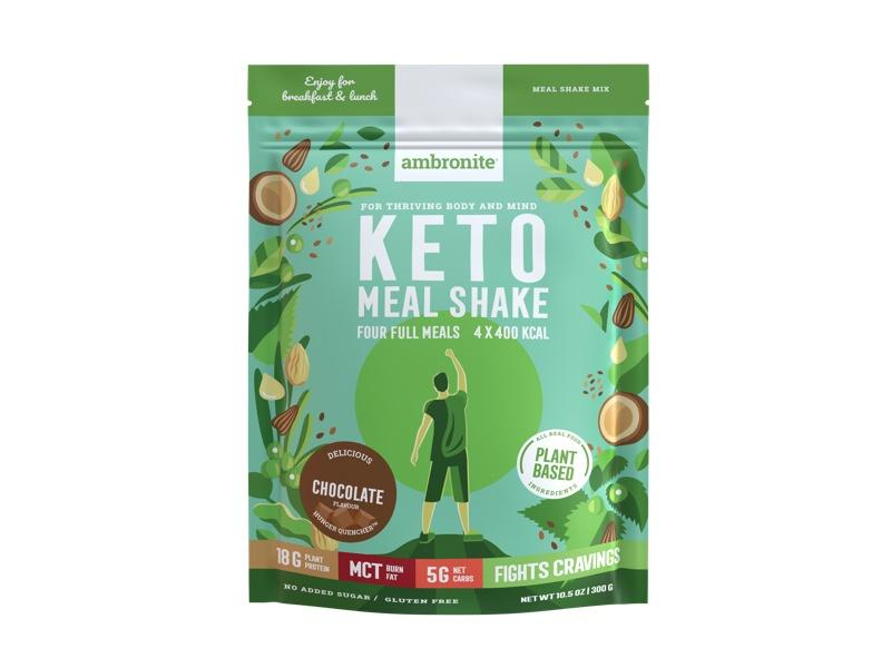 Ambronite Keto Meal Shake x 4 bundle