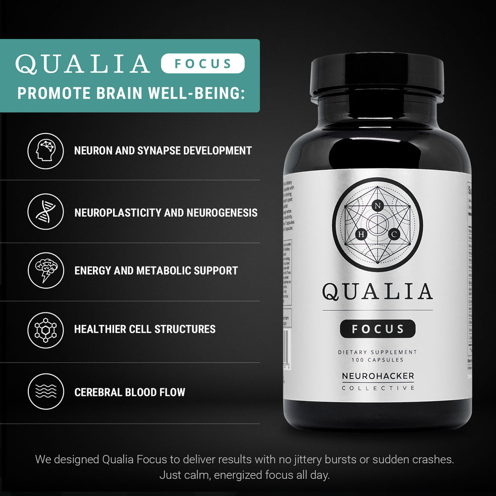 Neurohacker Collective Qualia Focus -lisäravinne