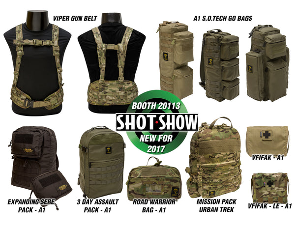 NEW FOR SHOT SHOW 2017