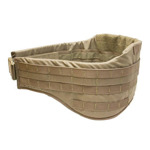 BLOCS Contoured Padded Pistol Belt