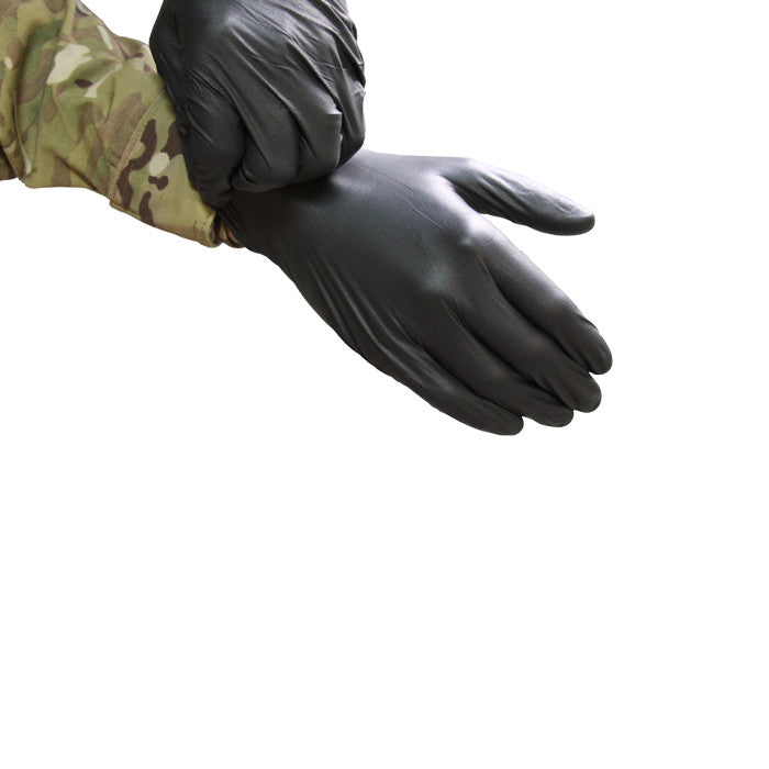 Black Maxx Gloves, XL, Pair