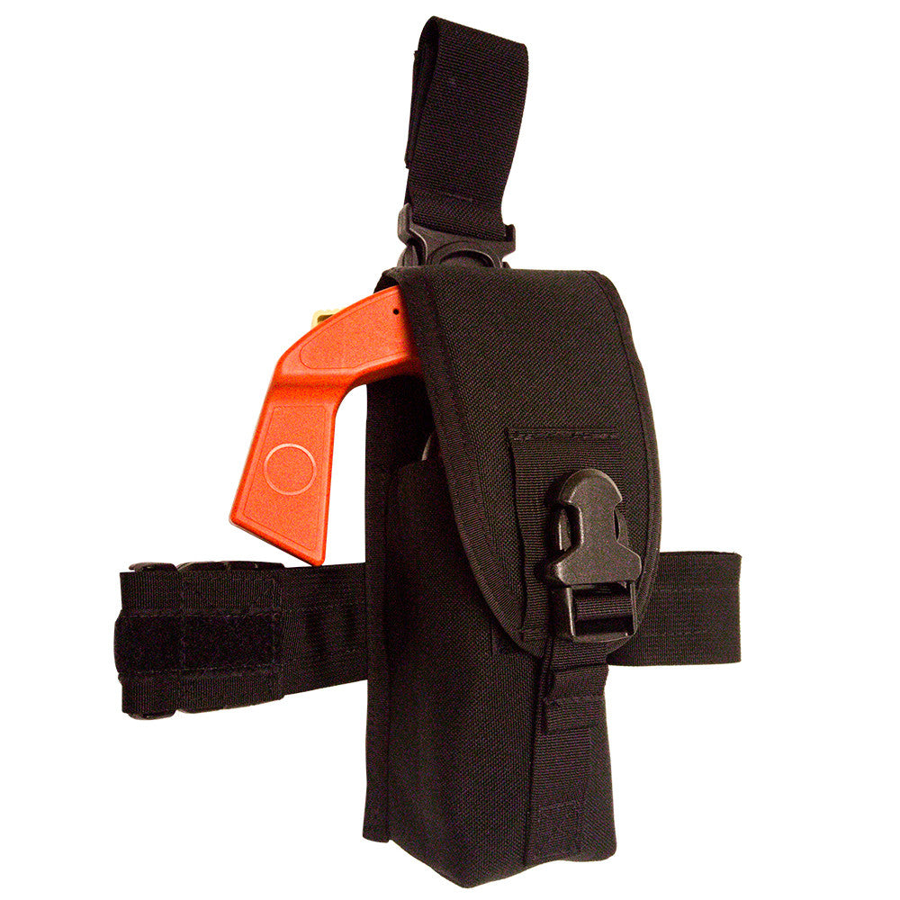 Speed Clip MK9 Pepper Spray Pouch, Thigh, Belt, Vest