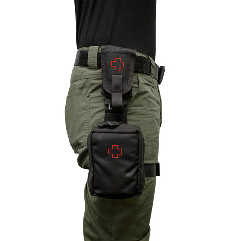 Patrol IFAK Kit with Removable Tourniquet Pouch