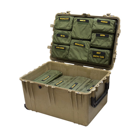 Modular Medical Case Organizer System