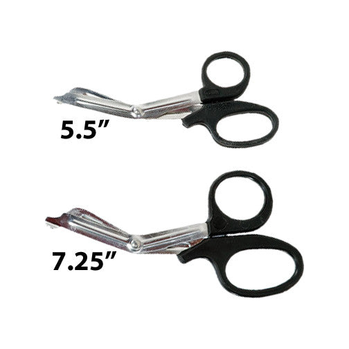 Stainless Medical Shears, Black Handle