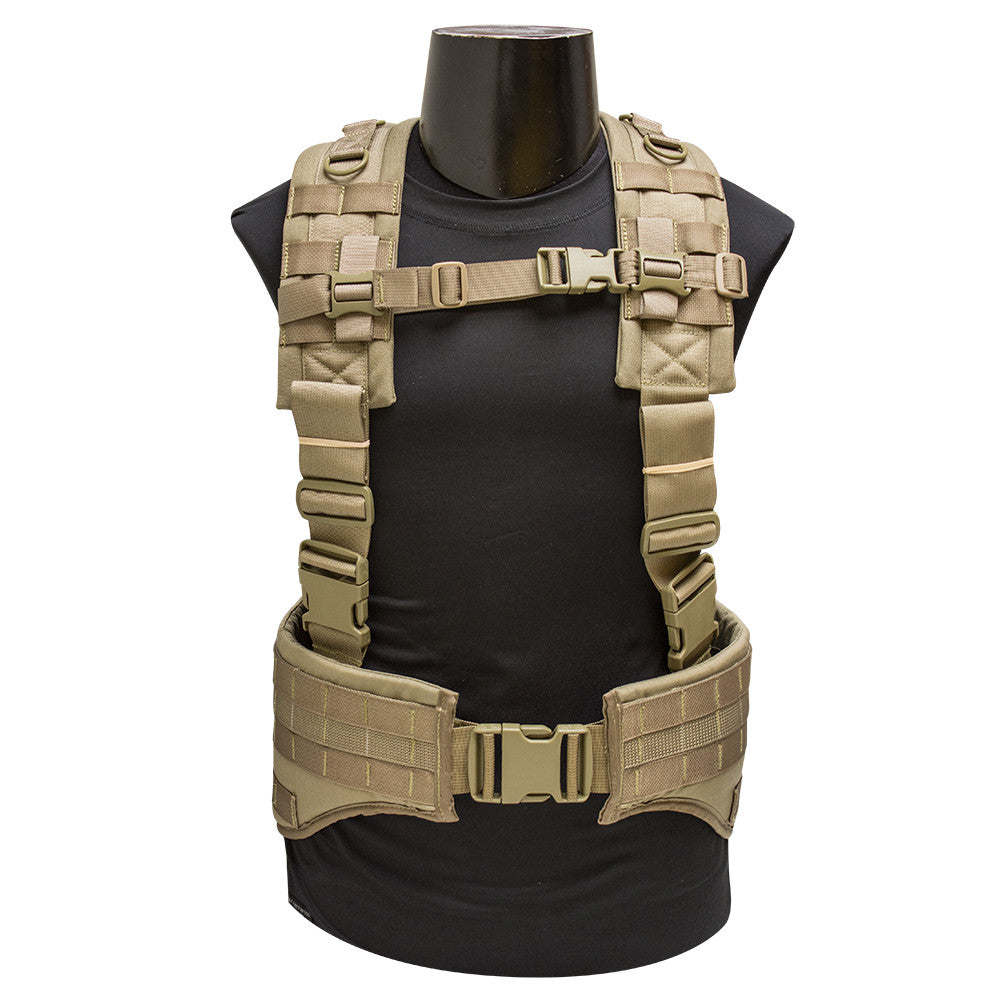 Sniper Padded Hybrid Hydration Harness (With Belt)