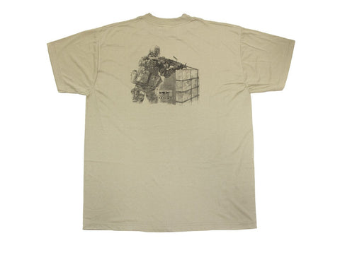 Symbology T-Shirt, Light Machine Gunner