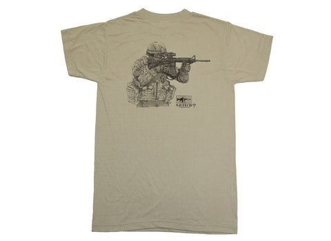 Symbology T-Shirt, Rifleman
