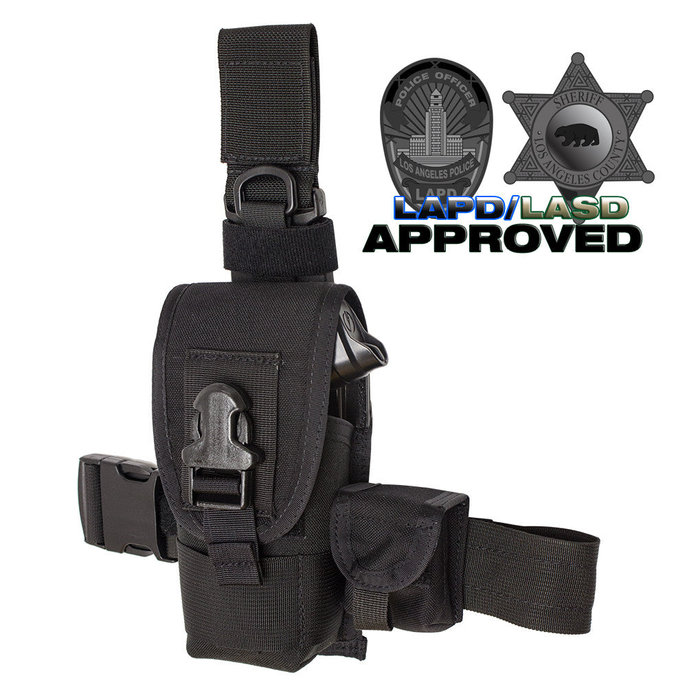 Speed Clip Taser Holster X2 Thigh, Belt, Vest