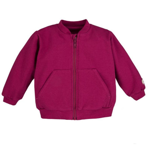 Bomber vest wine red - Simply Comfy - LittleBosses