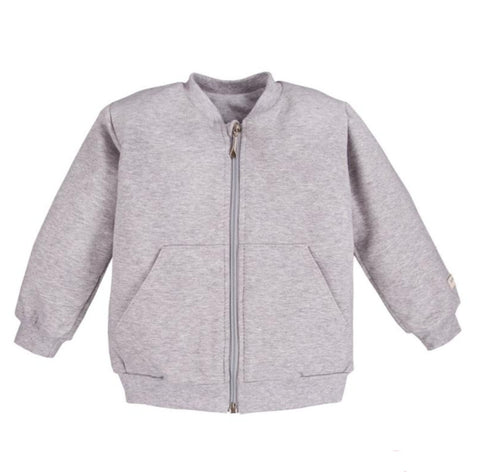 Bomber vest Stone grey - Simply Comfy - LittleBosses