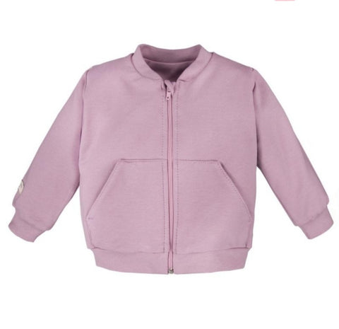 Bomber vest lilac - Simply Comfy - LittleBosses