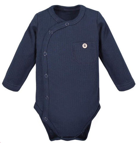 Omslag romper navy - Simply Comfy - LittleBosses