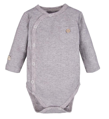 Omslag romper grey - Simply Comfy - LittleBosses