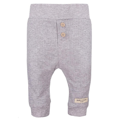 Simply Comfy broek grijs | Little bosses