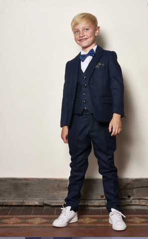 LITTLE BOSS MARC DARCY SUIT CALLUM BLUE