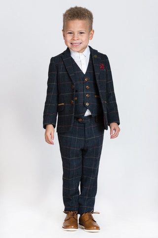 LITTLE BOSS MARC DARCY SUIT ETON