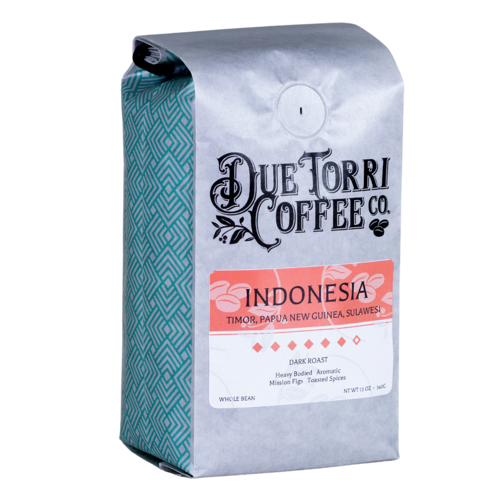 Indonesia Dark - Due Torri Coffee
