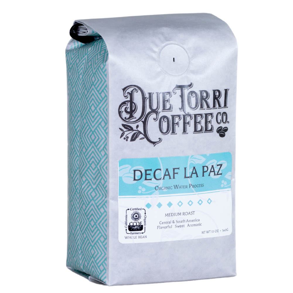 Water Process Decaf La Paz - Due Torri Coffee