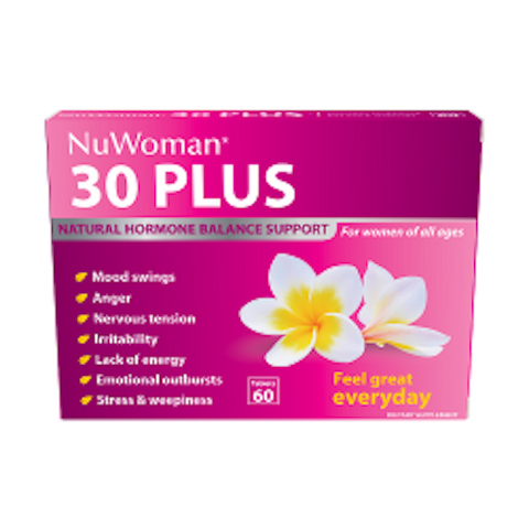 30 PLUS NuWoman Tablets, 60's