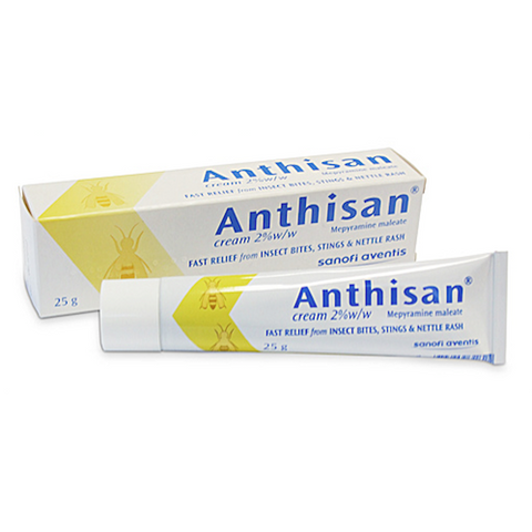 ANTHISAN Antihistamine Cream