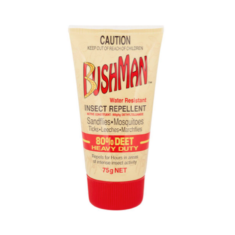 BUSHMAN Ultra Dry 80% Insect Repellent Gel, 75g