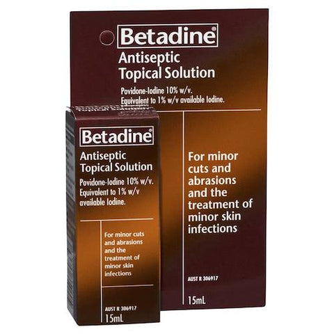 BETADINE Antiseptic Topical Solution, 15mL