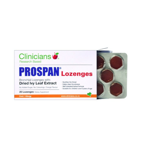 CLINICIANS Prospan Lozenges 20 pack
