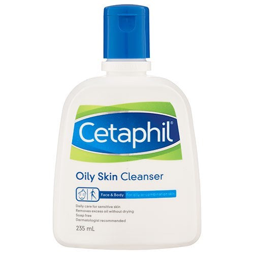 CETAPHIL Cleanser for Oily Skin, 235mL