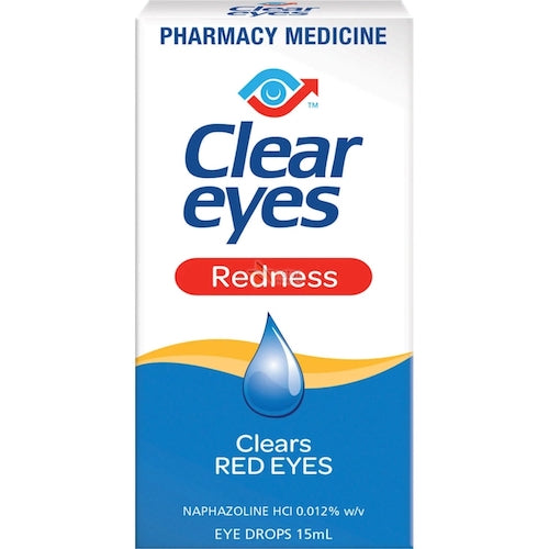 CLEAR EYES Redness Eye Drops, 15mL