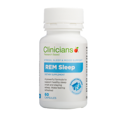CLINICIANS REM Sleep Capsules, 60's