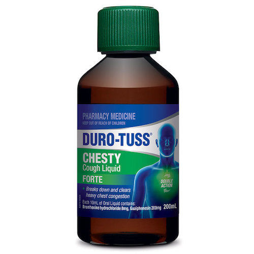 DURO-TUSS Chesty Cough Liquid Forte, 200mL