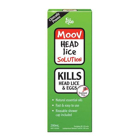 EGO MOOV Head Lice Solution, 200mL