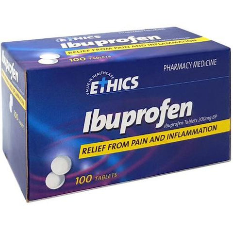 ETHICS Ibuprofen 200mg Tablets