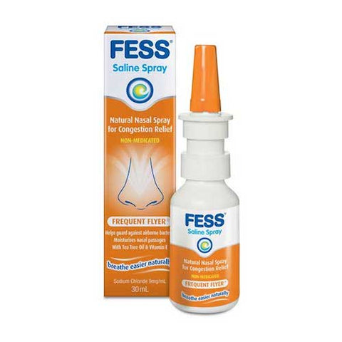 FESS Frequent Flyer Nasal Spray, 30mL