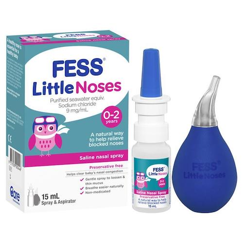 FESS Little Noses 15mL Spray & Aspirator