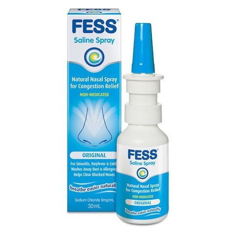 FESS Saline Nasal Spray, 30mL
